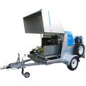 Hydro-jet trailer