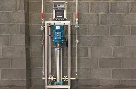 medium pressure unit