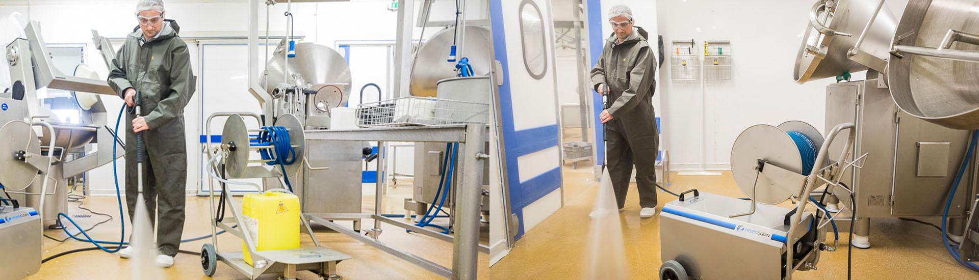 Nettoyeur haute pression et moyenne pression Hydroclean pour agro-alimentaire